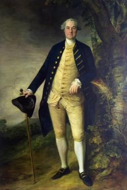 Portrait of William Hall, 2nd Viscount Gage by Thomas Gainsborough