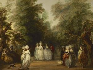 The Mall in St. James's Park, Ca. 1783 by Thomas Gainsborough
