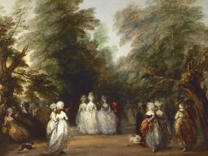 The Mall in St. James's Park by Thomas Gainsborough