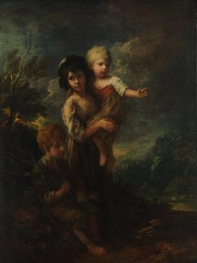 The wood gatherers, 1787 by Thomas Gainsborough