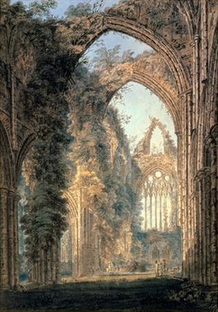 Tintern Abbey by Thomas Girtin