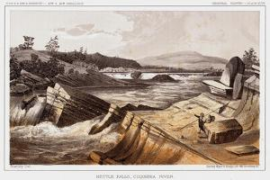 Kettle Falls, Columbia River by Thomas H. Ford