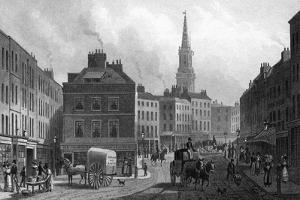 Broad St Bloomsbury by Thomas H Shepherd