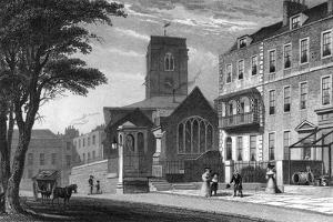 Chelsea Old Church by Thomas H Shepherd