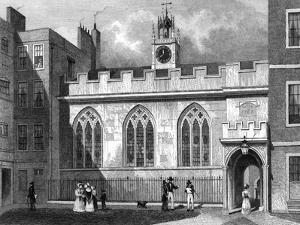 Cliffords Inn Hall by Thomas H Shepherd
