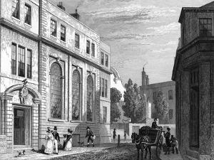 Coopers Hall London by Thomas H Shepherd
