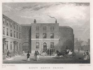 King's Bench Prison London Mainly for Debtors by Thomas H Shepherd