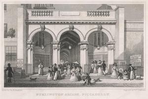 London, Burlington Arcade by Thomas H Shepherd
