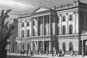 London Institution by Thomas H Shepherd