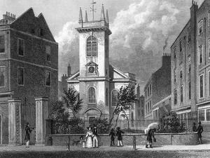 London Old Jewry by Thomas H Shepherd