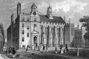 Middle Temple Hall by Thomas H Shepherd