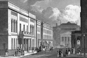 Regent Street by Thomas H Shepherd