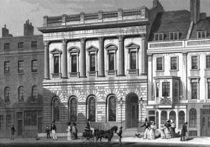 St James's Street by Thomas H Shepherd