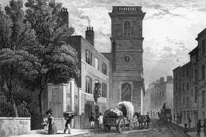 Upper Thames Street by Thomas H Shepherd