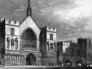 Westminster Hall by Thomas H Shepherd