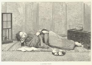 A Japanese Pillow by Thomas Harrington Wilson