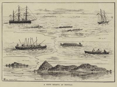 A Ship's Regatta at Trinidad