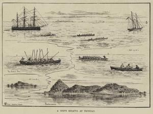 A Ship's Regatta at Trinidad by Thomas Harrington Wilson