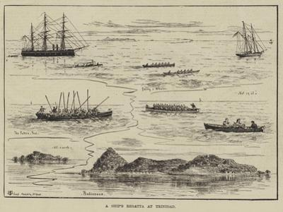 A Ship's Regatta at Trinidad by Thomas Harrington Wilson
