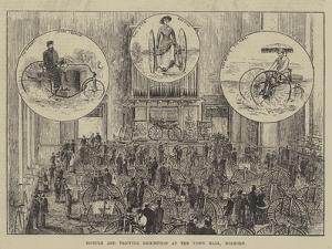 Bicycle and Tricycle Exhibition at the Town Hall, Holborn by Thomas Harrington Wilson