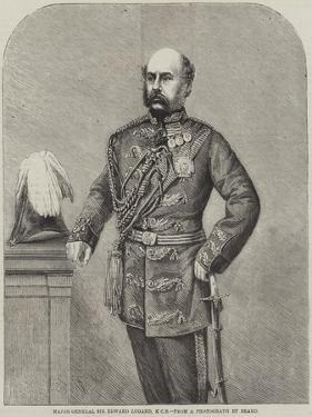 Major-General Sir Edward Lugard by Thomas Harrington Wilson