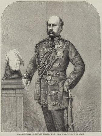 Major-General Sir Edward Lugard by Thomas Harrington Wilson