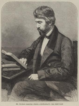 Mr Thomas Carlyle by Thomas Harrington Wilson