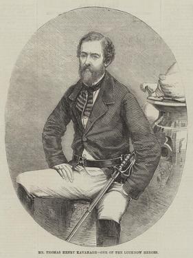 Mr Thomas Henry Kavanagh, One of the Lucknow Heroes by Thomas Harrington Wilson