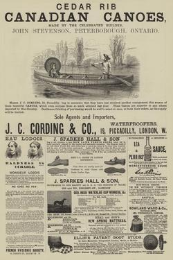 Page of Advertisements by Thomas Harrington Wilson