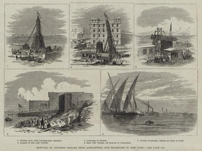 Removal of Another Obelisk from Alexandria, for Transport to New York by Thomas Harrington Wilson