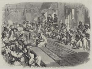 Sale at Calcutta of Valuable Government Presents and Lucknow Jewels by Thomas Harrington Wilson