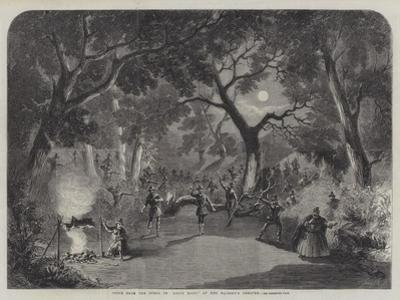 Scene from the Opera of Robin Hood, at Her Majesty's Theatre by Thomas Harrington Wilson