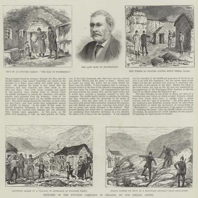 Sketches of the Eviction Campaign in Ireland by Thomas Harrington Wilson
