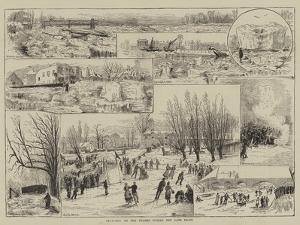 Sketches on the Thames During the Late Frost by Thomas Harrington Wilson