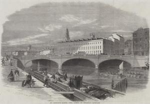 St Patrick's Bridge, Cork, Opened on Thursday by Thomas Harrington Wilson