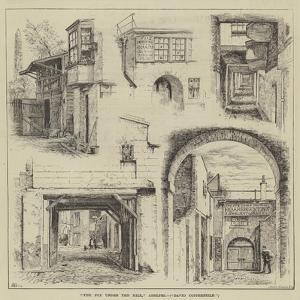The Fox under the Hill, Adelphi, David Copperfield by Thomas Harrington Wilson