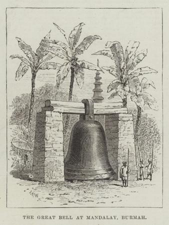 The Great Bell at Mandalay, Burmah by Thomas Harrington Wilson