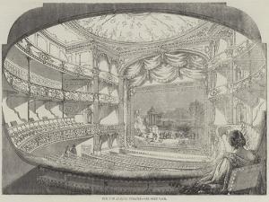 The New Adelphi Theatre by Thomas Harrington Wilson