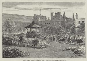 The New Band-Stand on the Thames Embankment by Thomas Harrington Wilson