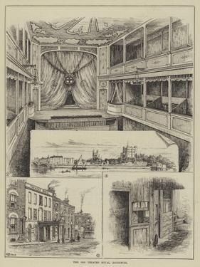 The Old Theatre Royal, Rochester by Thomas Harrington Wilson