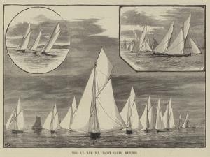 The Royal Thames and New Thames Yacht Clubs' Matches by Thomas Harrington Wilson