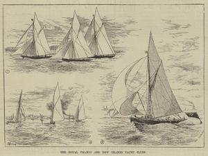 The Royal Thames and New Thames Yacht Clubs by Thomas Harrington Wilson