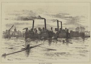 The Sculling Championship by Thomas Harrington Wilson