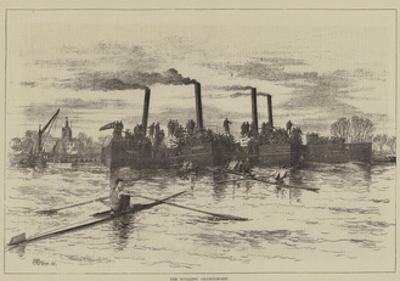 The Sculling Championship by Thomas Harrington Wilson