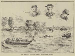 The West-End Amateur Rowing Association's Regatta by Thomas Harrington Wilson