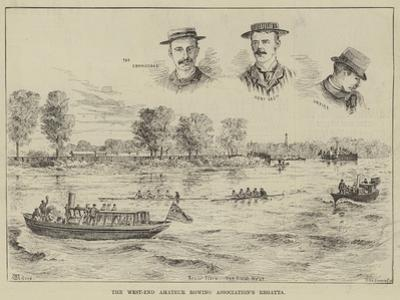 The West-End Amateur Rowing Association's Regatta by Thomas Harrington Wilson