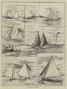 Yachting at Bermuda by Thomas Harrington Wilson