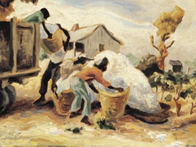 The Cotton Pickers by Thomas Hart Benton