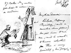 A Letter from Thomas Henry Huxley to Charles Darwin, with a Sketch of Darwin as a Bishop or Saint by Thomas Henry Huxley