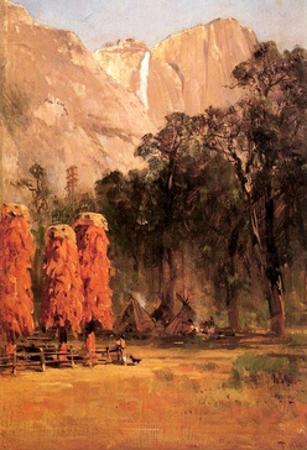 Acorn Granaries of the Piute Indians, C.1873